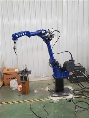 河北焊接机器人现场测试