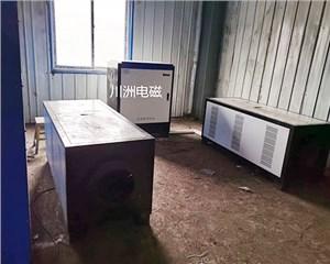 电磁热风机,岚县利民洗煤厂100KW电磁热风机 车间供暖1400平米