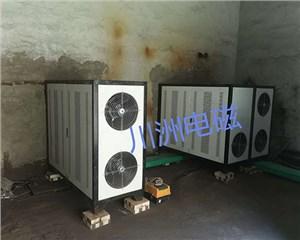 电磁热风机,临汾晋牛煤矿6台500KW 为空气能进行井口二次提温