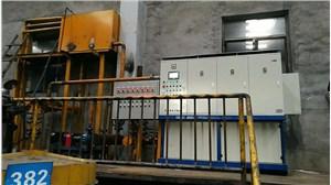 电磁热风机,岚县田野矿业安装300KW电磁热风机