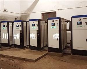煤改电电锅炉,山西省太原市清徐南岭煤业 5台80KW 车间供暖4000平米