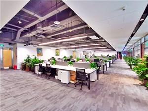 张江办公室租赁,盛大天地源创谷,360度全景采光,花园式办公环境
