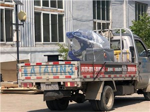 焊接机器人发货案例