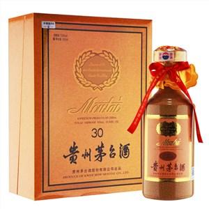 深圳回收三十年陈酿茅台酒