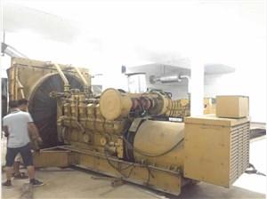 向欧姆龙公司出租一台1600kw发电机组