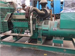给三亚某工地出售一台250kw玉柴发电机