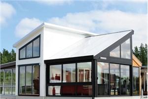 天津阳光房型材之顶部材料该如何选择