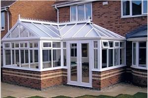 设计合理结构可避免阳光房漏水