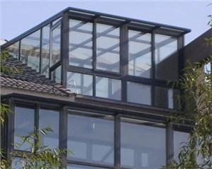 断桥铝包木窗阳光房简介