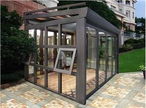 南通阳光房铝合金型材的环保意义