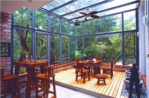 家居阳光房装修的用材及优缺点