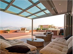 如何封露台制作无锡玻璃阳光房