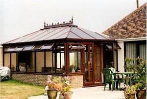 钢结构威海露台阳光房的搭建方法