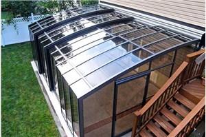 节能断桥铝阳光房遮阳在建筑行业的优势