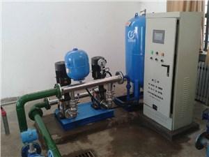 济南恒压供水变频器控制