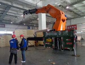 关于北京吊车出租后遇到发动机温度过高及排解办法