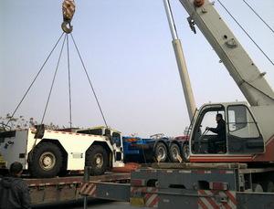 吊装设备的使用在很大的程度上关系着工程是否可以顺利进行