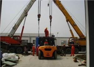 佛山吊车租赁公司提示在吊装工作中指挥起重机械操作注意事项
