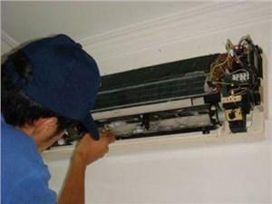重庆三菱空调排气温度传感器引起的限频故障