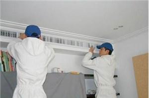 天津三菱中央空调过滤网怎么清洗?