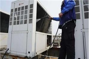 青岛三菱空调内机风扇清洗步骤