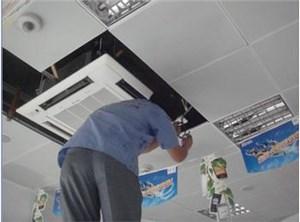 昆明三菱中央空调过滤网怎么清洗?