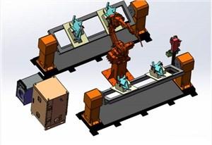 焊接機器人整體集成