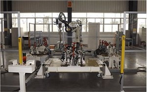 焊接工業機器人客戶現場應用