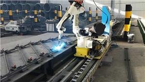 工業焊接機器人焊接螺柱工作站