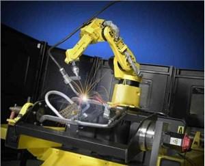 焊接機器人生產線