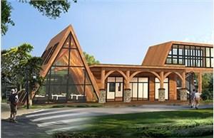 兰州木屋厂家讲述木别墅安装时需注意的四个问题