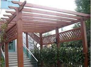 唐山景观设计中廊架与花架的应用