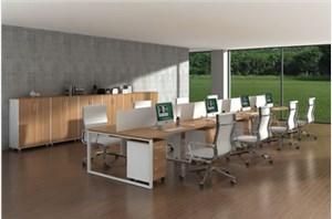 如何利用颜色进行合理搭配办公桌椅呢?