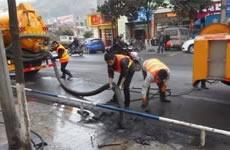 高压清洗方法达到管道疏通的原理