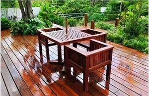 青岛防腐木厂家讲述庭院防腐木露台该如何铺装