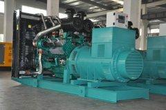 合肥发电机租赁告诉你发电机组转速降低的原因