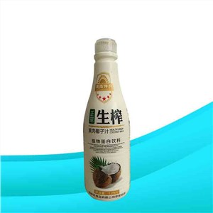 天降神兵生榨果肉椰子汁植物蛋白饮料1.25升大瓶装@江苏上首生物科技有限公司