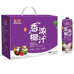 高端钻石礼盒装饮料椰汁/ 每瓶1升装江苏上首生物科技有限公司
