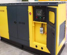 天津发电机出租厂家带你了解发电机冒蓝火的原因