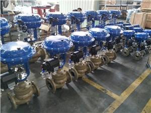 气动调节阀在生产过程中的调试介绍