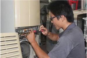 三菱空调压缩机堵转(轻微卡缸)故障的排除