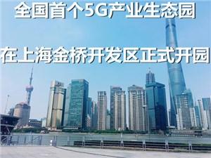 全国5G产业生态园 在上海金桥开发区正式开园