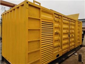 枣庄柴油发电机组控制污染排放的方法