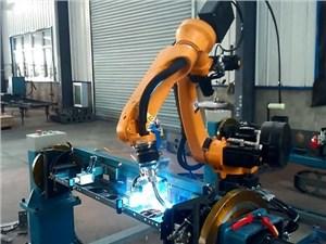河北焊接机器人现场焊接