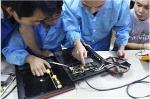 松下电视机液晶主驱动板故障维修