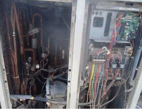 约克空调空调器噪音和振动较大