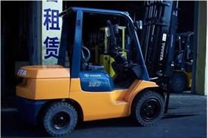 杭州叉车租赁需要注意哪些问题?