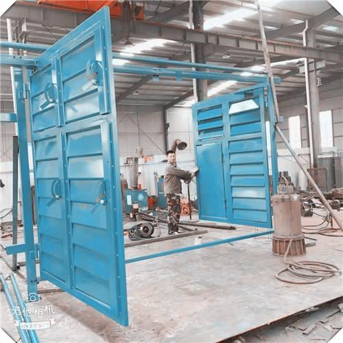 矿用调节无压风门的板材厚度要求