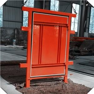 竹膠板單扇風門
