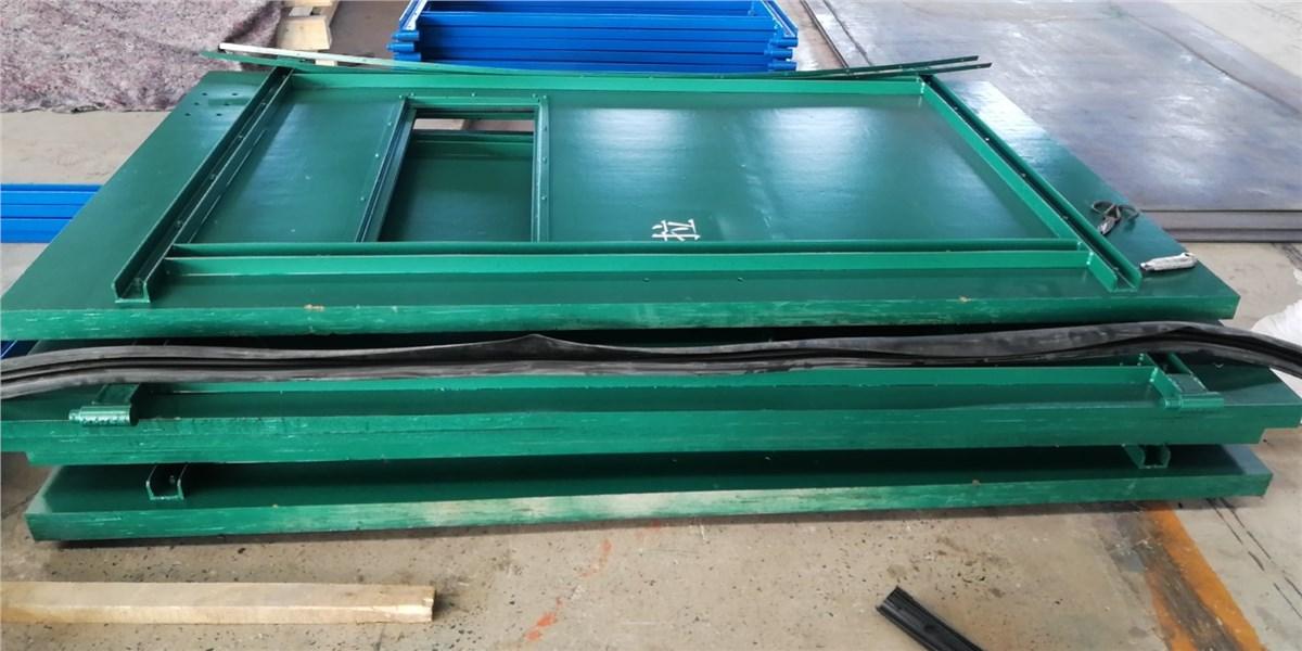 強度覆膜竹膠板礦用風門
